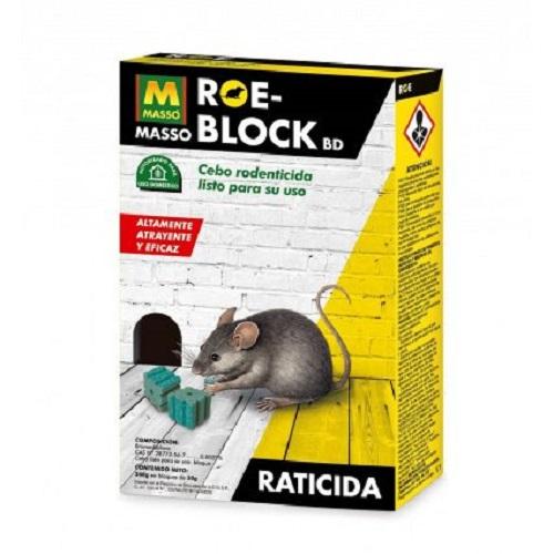 Raticida en bloque fácil y eficaz