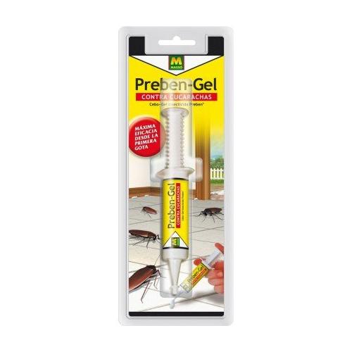 Con efecto duradero en el control de cucarachas (adultos y larvas).