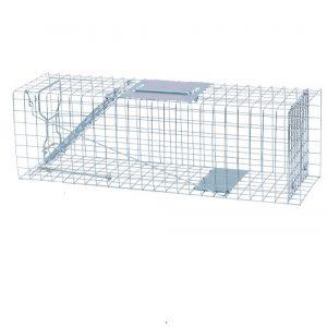 Trampa exterior captura conejos