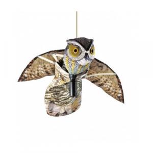 Búho volador colgable que sirve para ahuyentar otros animales