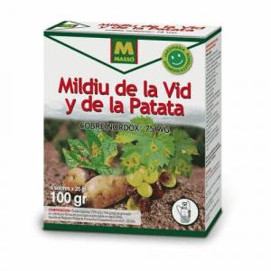 Su uso está especialmente indicado para controlar el mildiu de la vid y de la patata