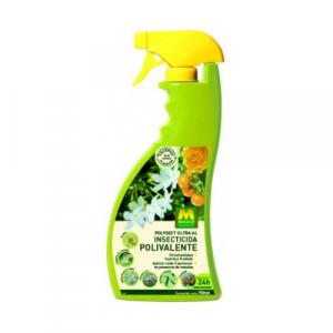 Insecticida y acaricida de amplio espectro para aplicar directamente en pulverización.