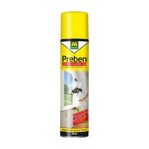 Insecticida para moscas, moscardones y mosquitos