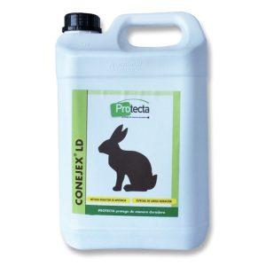 Reduce la presencia de conejos en exteriores