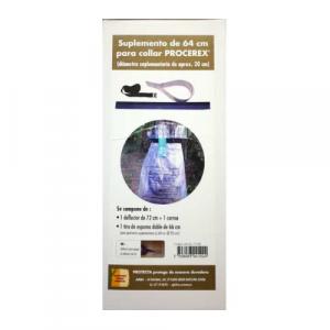 Utilizando este suplemento se puede cubrir hasta 170 cm aproximadamente.