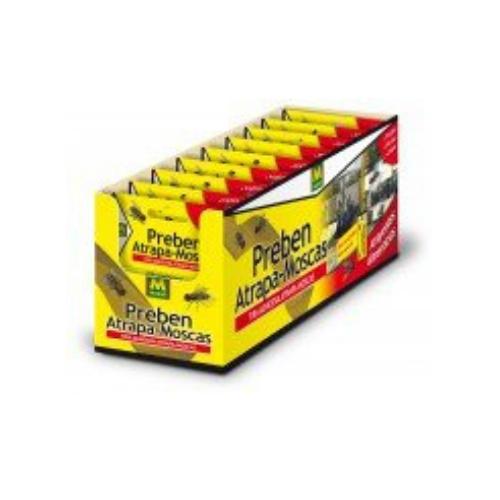 Cintas adhesivas para eliminar moscas en hogares
