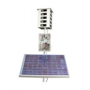 Ahuyentador con placa solar